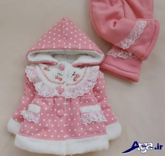 لباس زمستانی نوزاد دختر