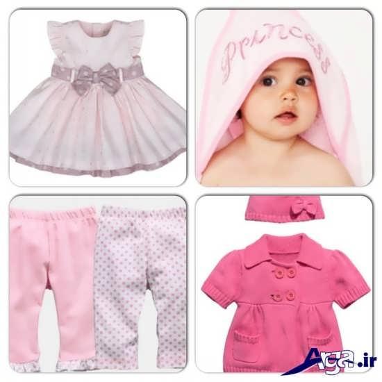 انواع لباس نوزاد دخترانه