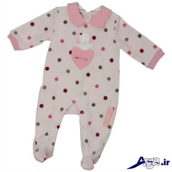 لباس سرهمی نوزاد دختر