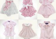 انواع لباس نوزادی دختر