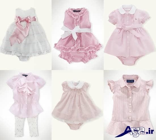 لباس مجلسی نوزاد دختر