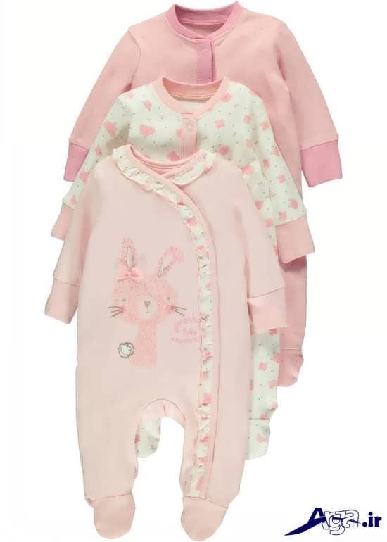لباس های سرهمی نوزاد دختر