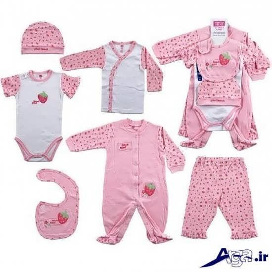 انواع لباس برای نوزاد دختر