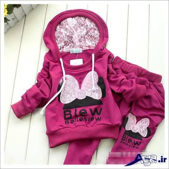 لباس نوزادی دخترانه جدید