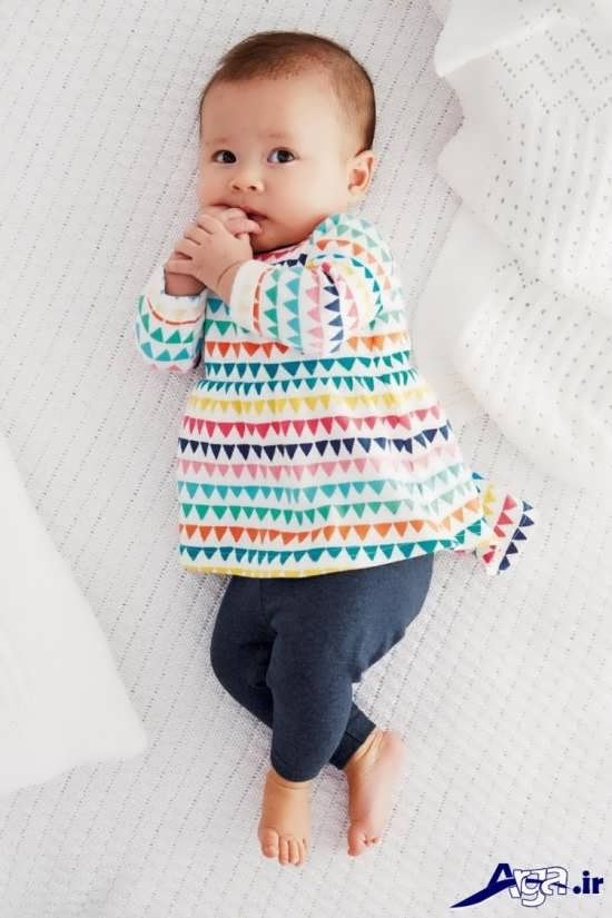 لباس نوزادی دخترانه زیبا و جدید