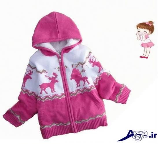 لباس نوزادی دخترانه زمستانی