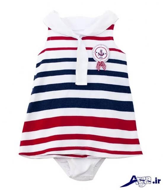 لباس نوزادی دخترانه تابستانه
