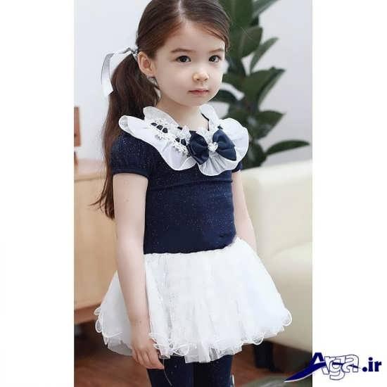 لباس بچه گانه دامن دار دخترانه
