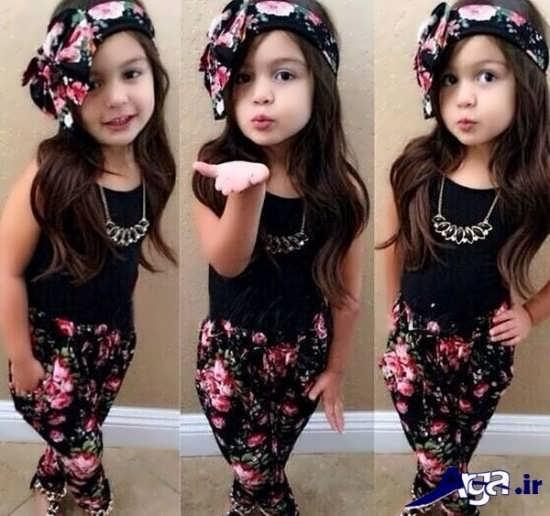 لباس اسپرت بچه گانه دخترانه