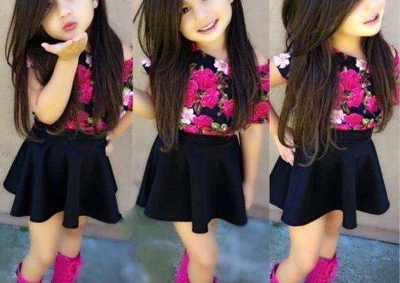 لباس بچه گانه ی دخترانه زیبا