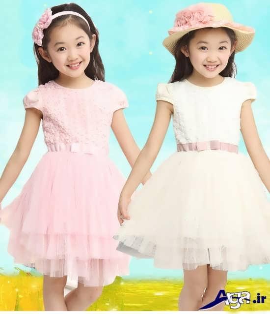لباس بچه گانه دخترانه گیپور