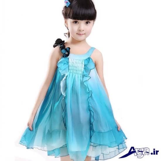 لباس بچه گانه آبی دخترانه