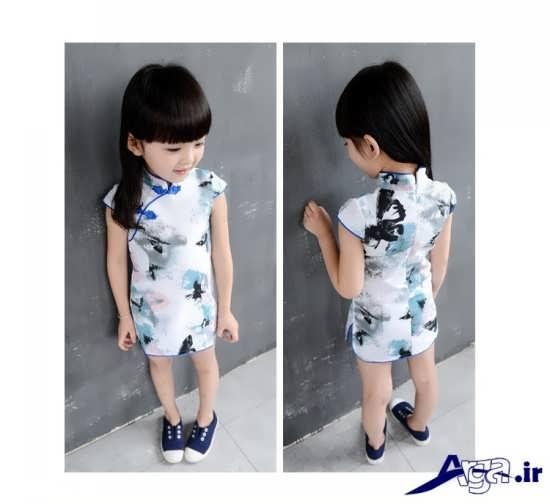 لباس بچه گانه گلدار دخترانه