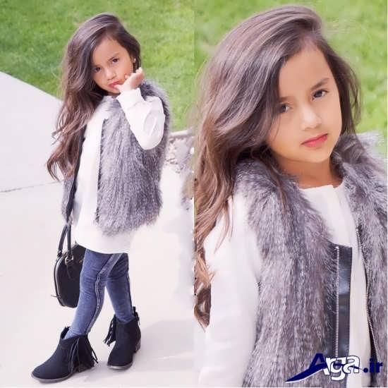 لباس اسپرت پاییزی بچه گانه دخترانه