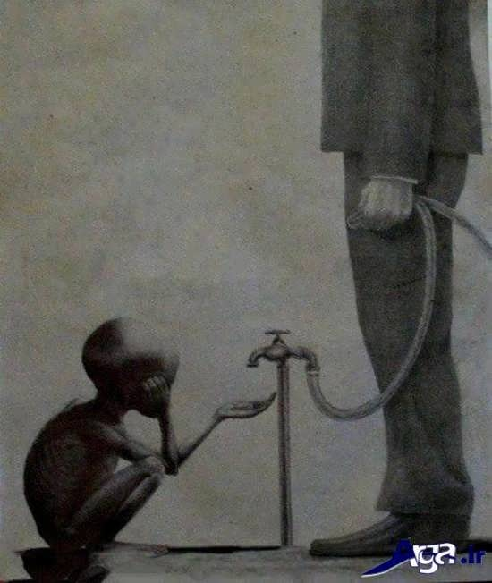عکس های مفهومی فقر و نداری
