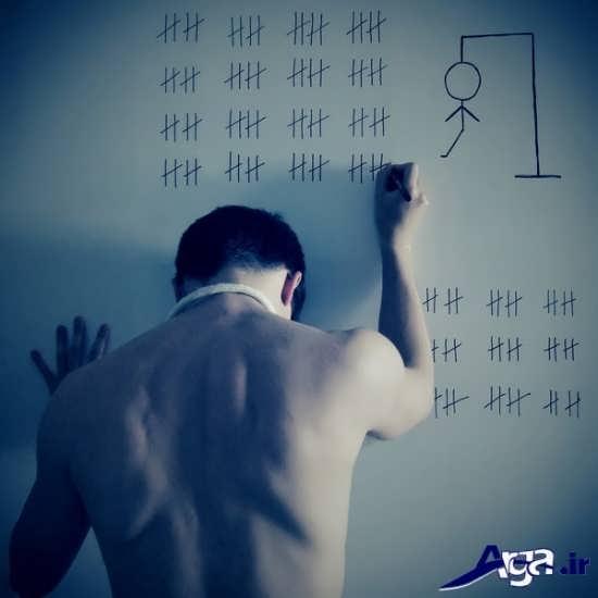 عکس های مفهومی از زندانی ها