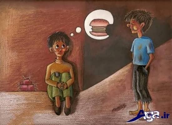 عکس های مفهومی از فقر