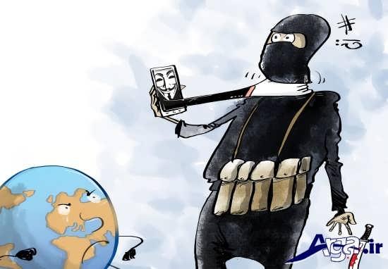 مجموعه کاریکاتور داعشی