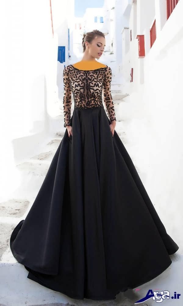 لباس مجلسی دانتل بلند