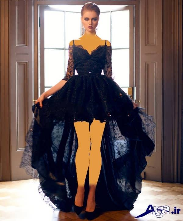 لباس مجلسی دانتل دخترانه