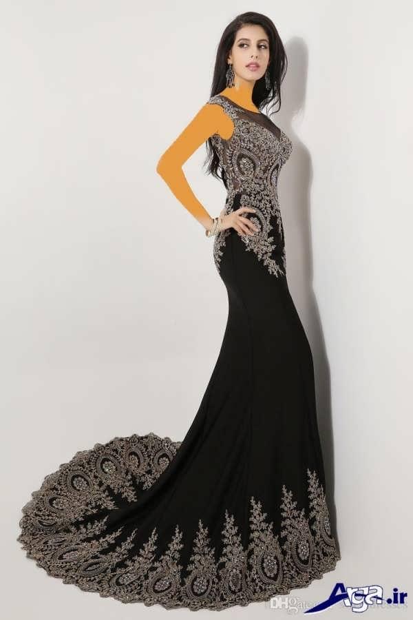 لباس مجلسی دانتل زنانه