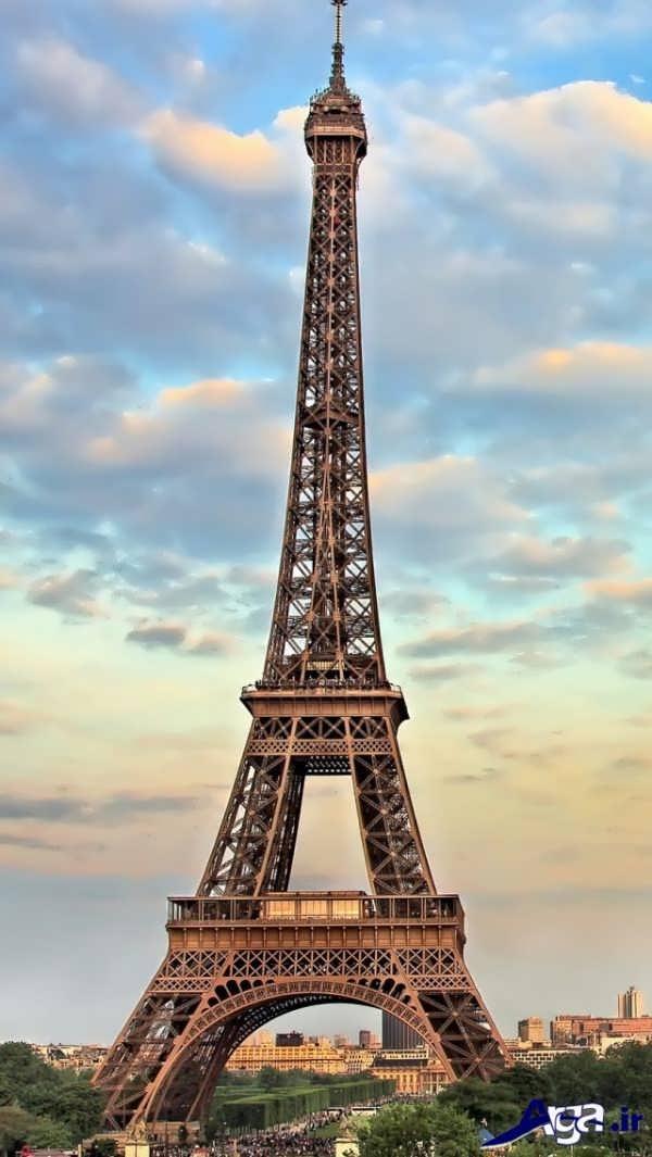 عکس های برج ایفل و آسمان