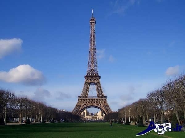 عکس های برج ایفل و طبیعت