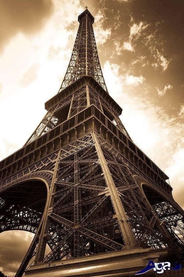 عکس های برج ایفل سیاه و سفید