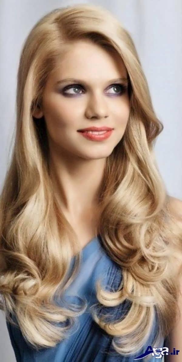 مدل موی فارا بلوند