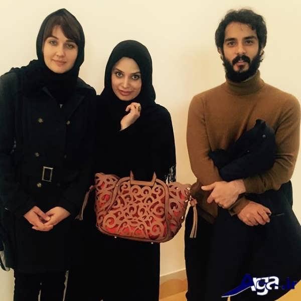 عکس های ساعد سهیلی و همسرش جدید