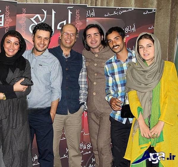 عکس های ساعد سهیلی و همسرش در کنسرت