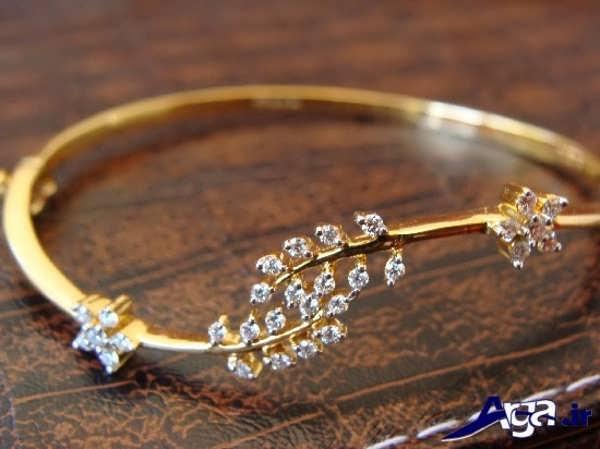 مدل دستبند طلا فانتزی