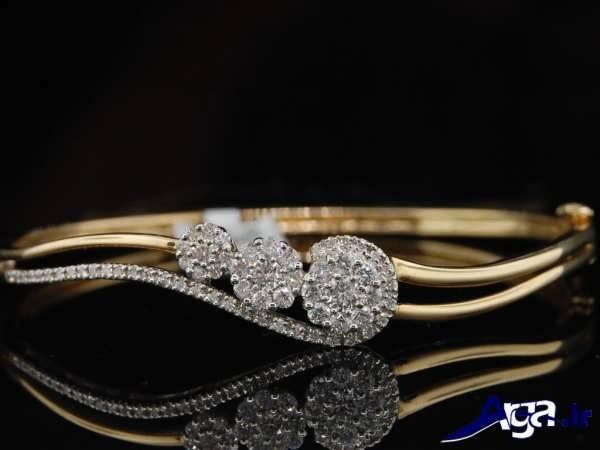 مد دستبند طلا دخترانه