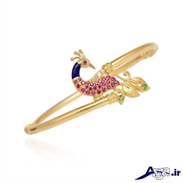 مدل دستبند طلا دخترانه فانتزی