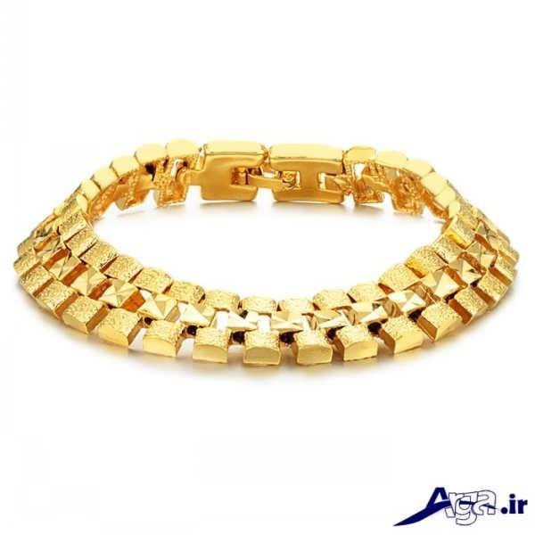 مدل دستبند طلا زرد