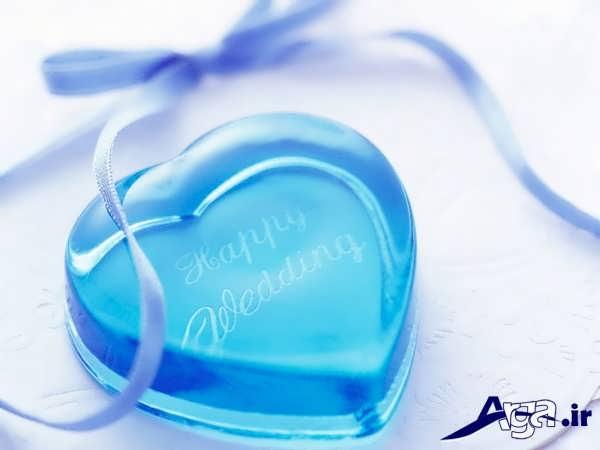 عکس های قلب آبی