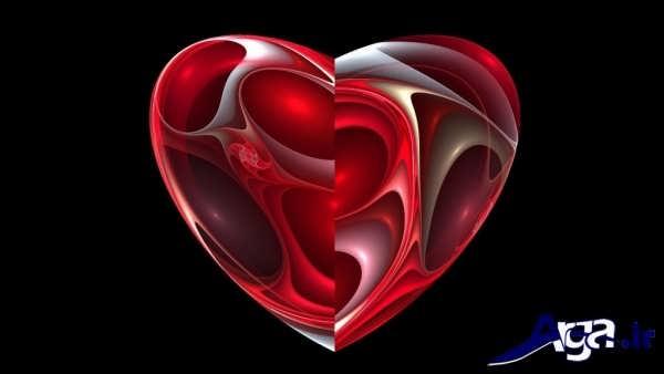 عکس های قلب قرمز
