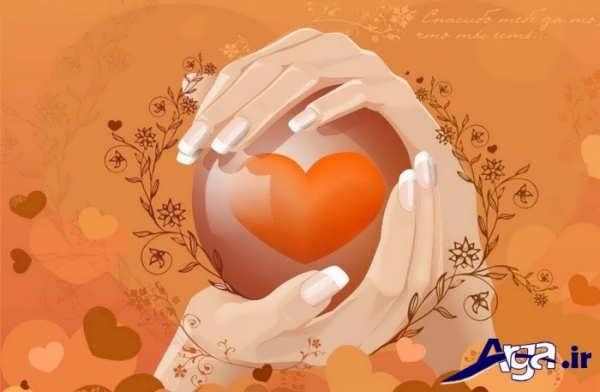 عکس های قلب در دست