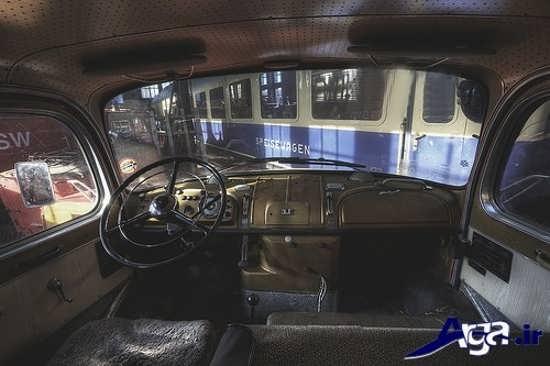 نمای داخلی ماشین پیکان