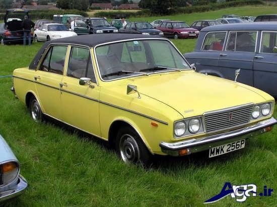 عکس ماشین زرد پیکان
