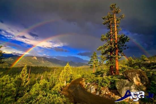عکس رنگین کمان زیبا
