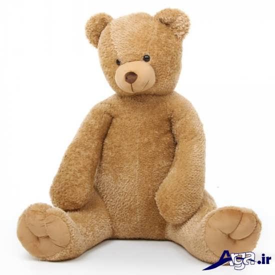عکس خرس عروسکی بزرگ زیبا