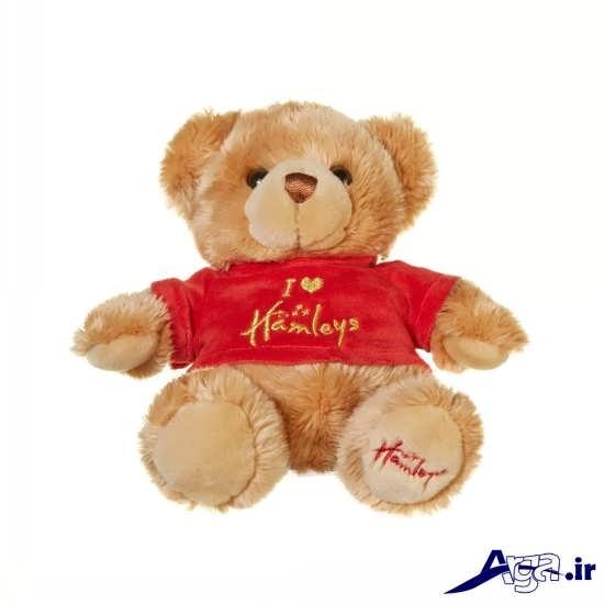 عکس خرس عروسکی دوست داشتنی