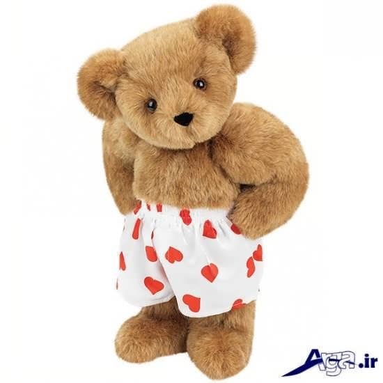 عکس خرس عروسکی با شورت