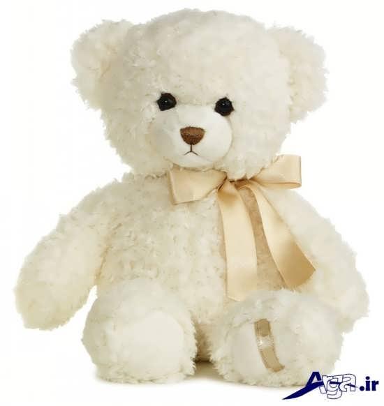 عکس خرس عروسکی سفید