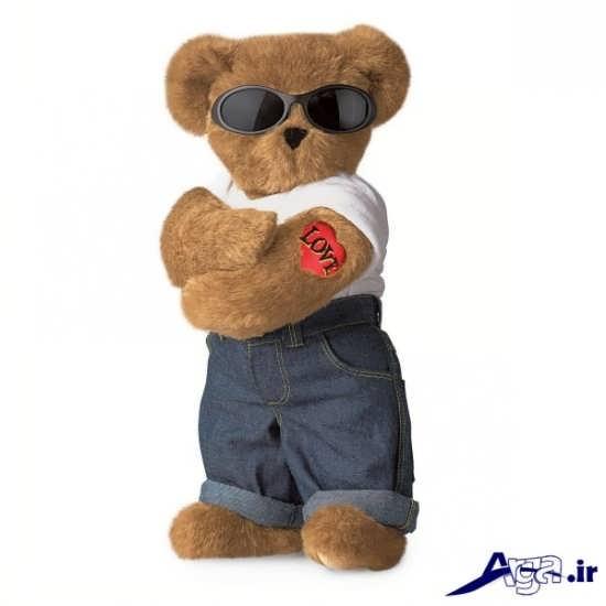 عکس خرس عروسکی با لباس