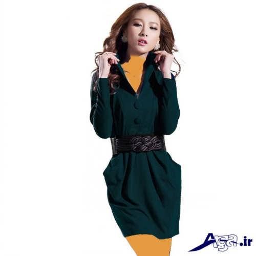 مدل مانتو کره ای فوقالعاده شیک