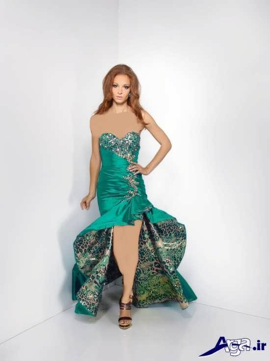 لباس مجلسی شیک بلند دخترانه