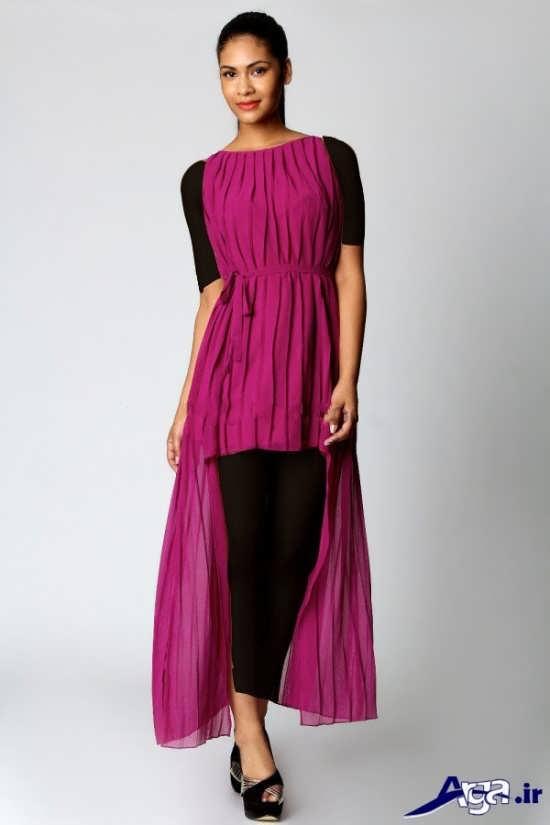 لباس مجلسی ساده بلند دخترانه