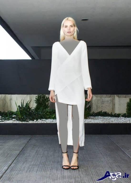 لباس مجلسی ساده و جدید بلند دخترانه